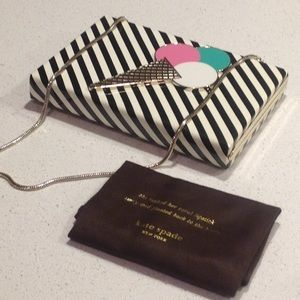 NWT Kate Soade Emanuelle Ice Cream Clutch Bag NEW